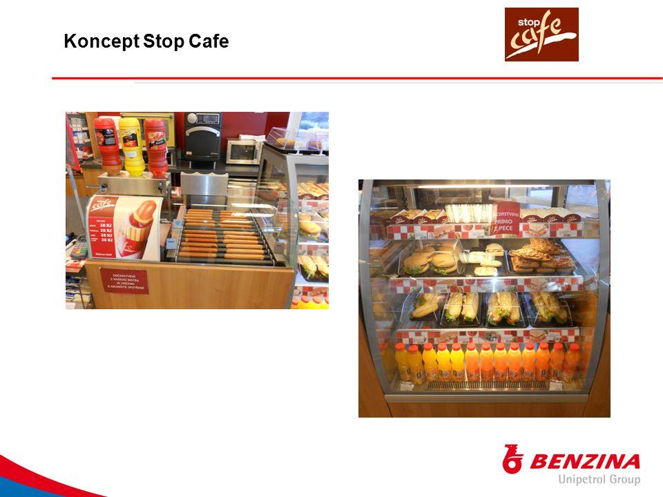 STOP CAFE BISTRO stávající provozovnu jsme re-modelovali a re-designovali podle konceptu STOP CAFE dosavadní nabídka čerstvých a zapečených baget, pizzy, polévek atd.