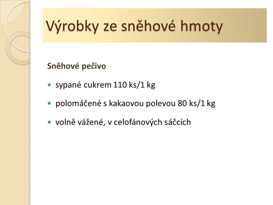 Sněhové pečivo http://commons.wikimedia.org/wiki/File:Home_made_me ringues.jpg?uselang=cs Autor: Marcin Floryan