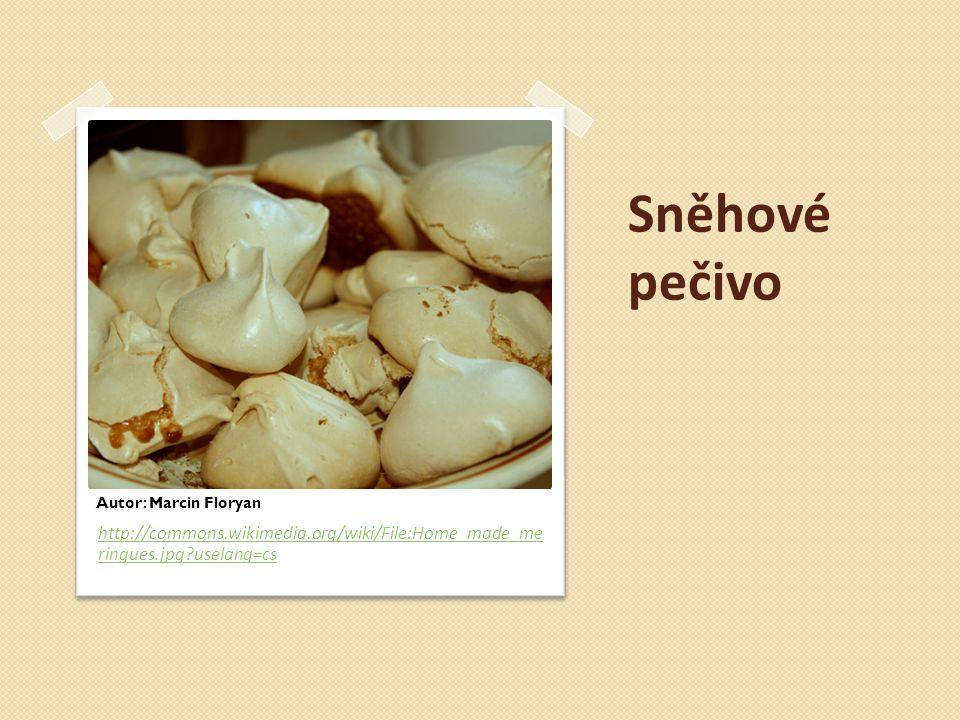 Sněhoví ježci s bílkovým krémem určeny k rychlé spotřebě korpusy jsou plněné ovocným bílkovým krémem na povrchu je výrobek zdoben ovocem spodní část výrobku je potažená CKP hmotnost výrobku je 40 g