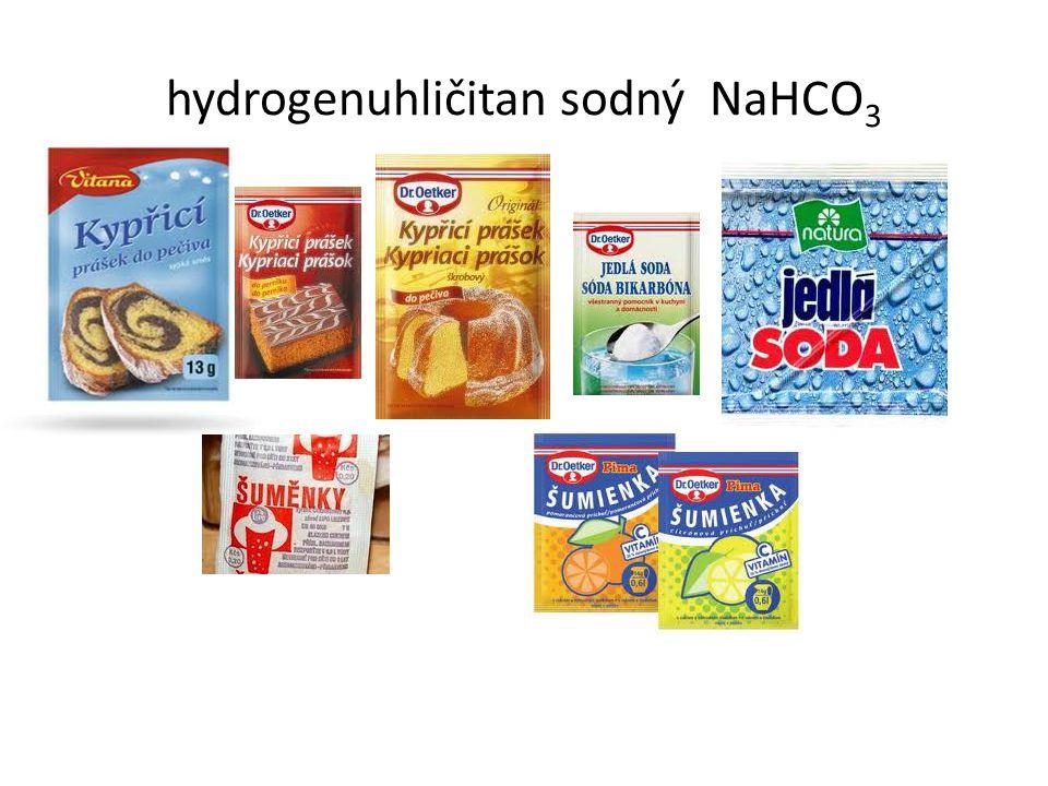 hydrogenuhličitan sodný NaHCO 3