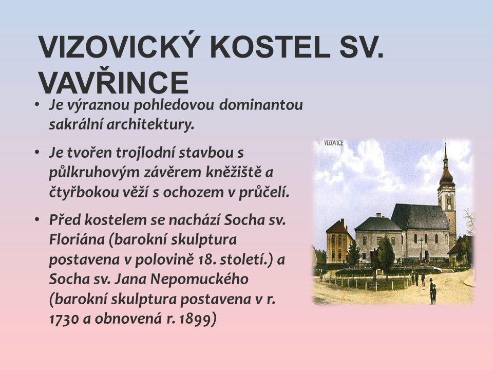 Je výraznou pohledovou dominantou sakrální architektury. Je tvořen trojlodní stavbou s půlkruhovým závěrem kněžiště a čtyřbokou věží s ochozem v průče