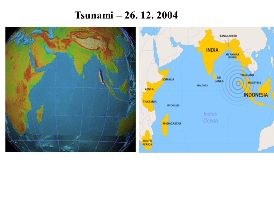 Tsunami – 26. 12. 2004