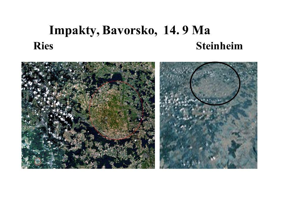 Impakty, Bavorsko, 14. 9 Ma Ries Steinheim