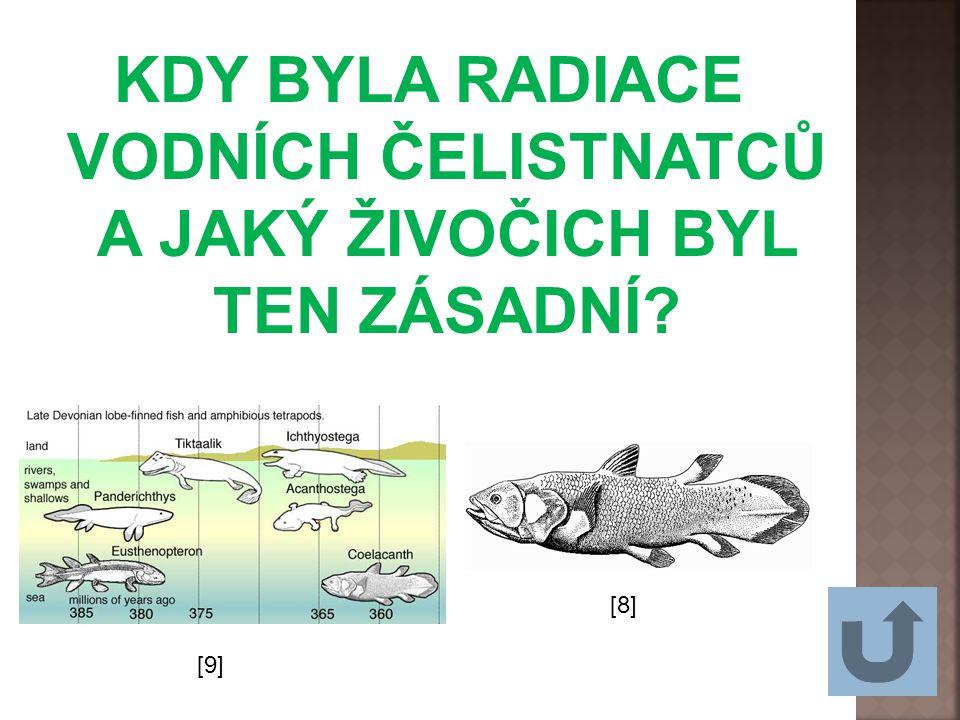 VYJMENUJTE, JAK JDOU PO SOBĚ JEDNOTLIVÉ GEOLOGICKÉ PERIODY PRVOHOR. [10]