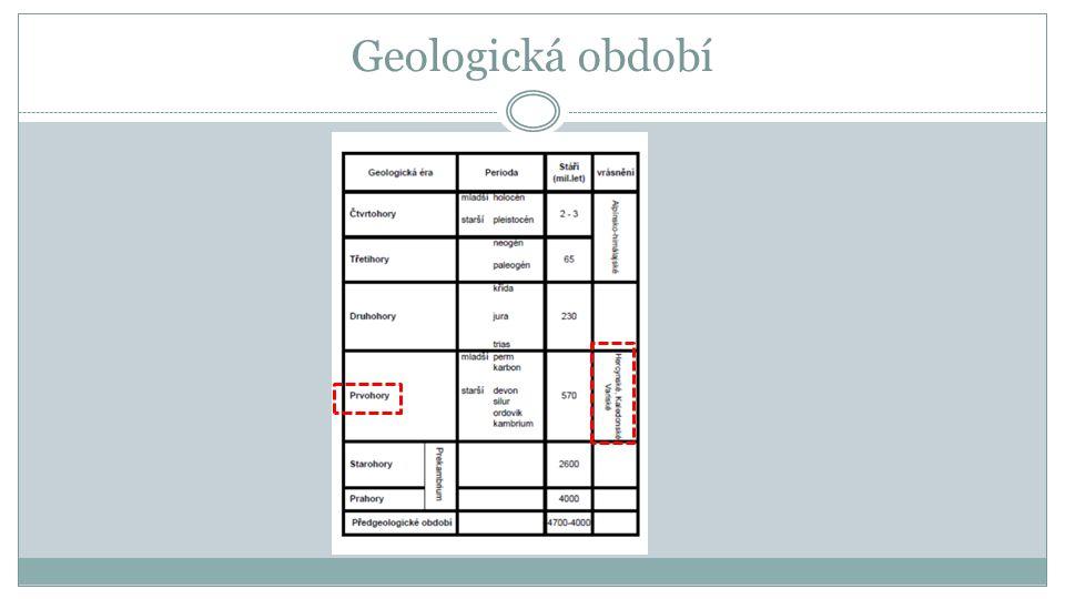 Geologická období