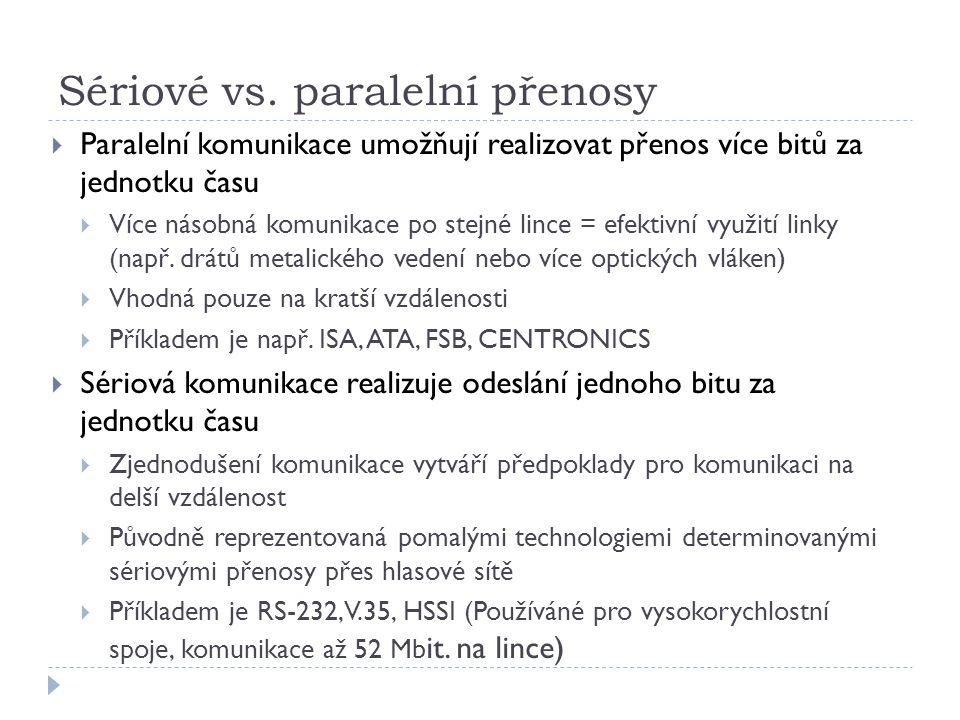 Sériové vs.