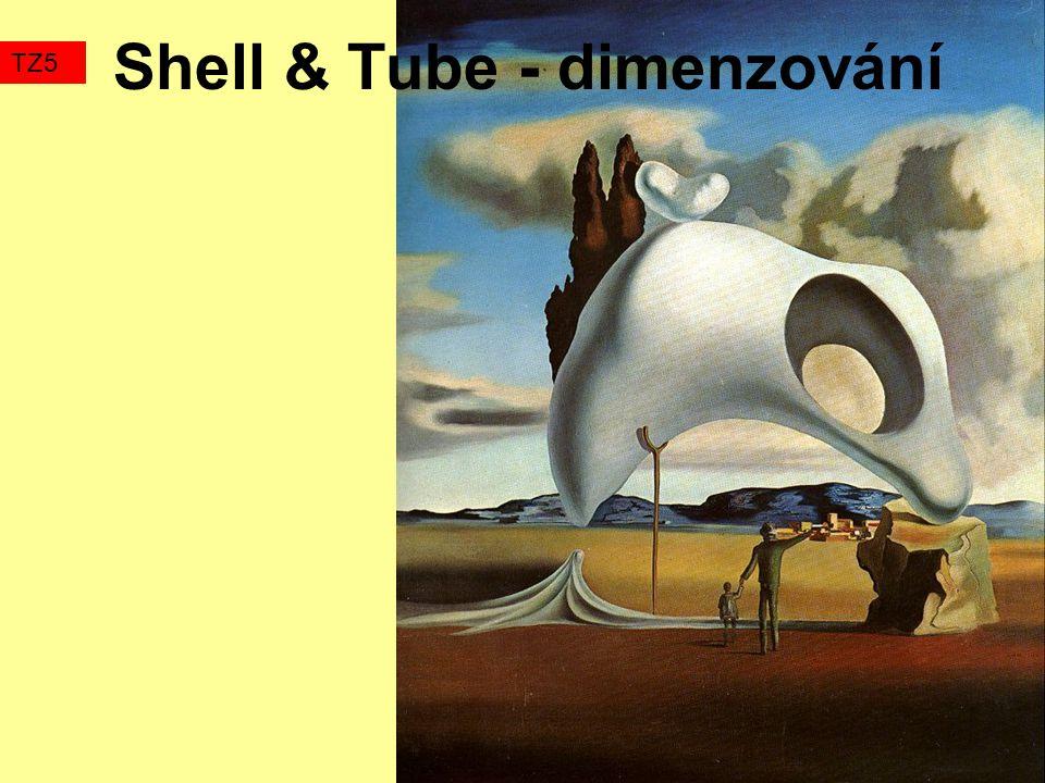 Shell & Tube - dimenzování TZ5