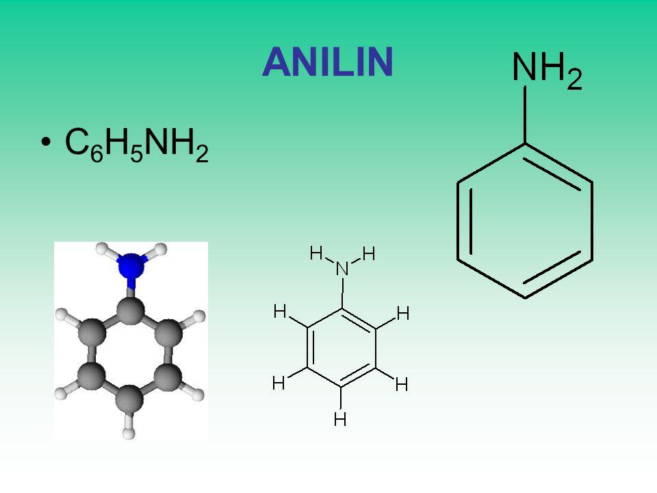 ANILIN C 6 H 5 NH 2