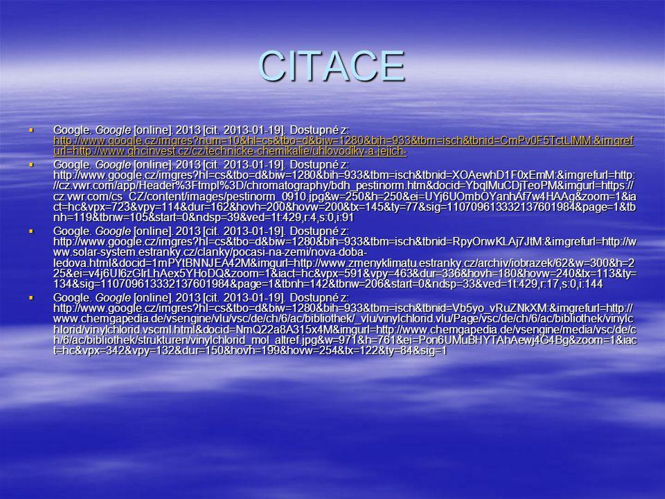 CITACE  Google. Google [online]. 2013 [cit. 2013-01-19].