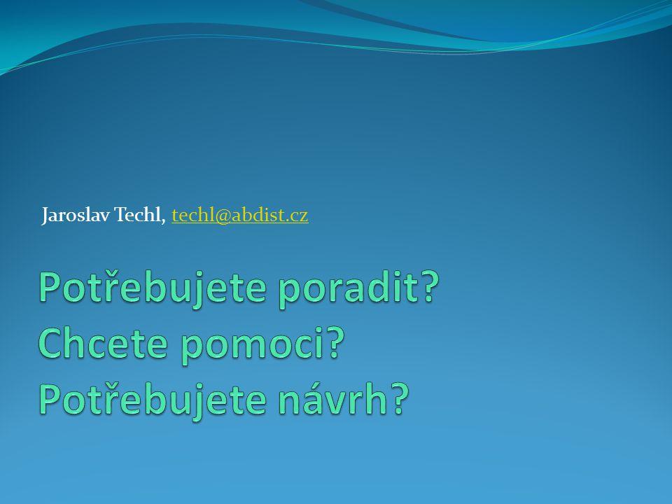 Jaroslav Techl, techl@abdist.cztechl@abdist.cz