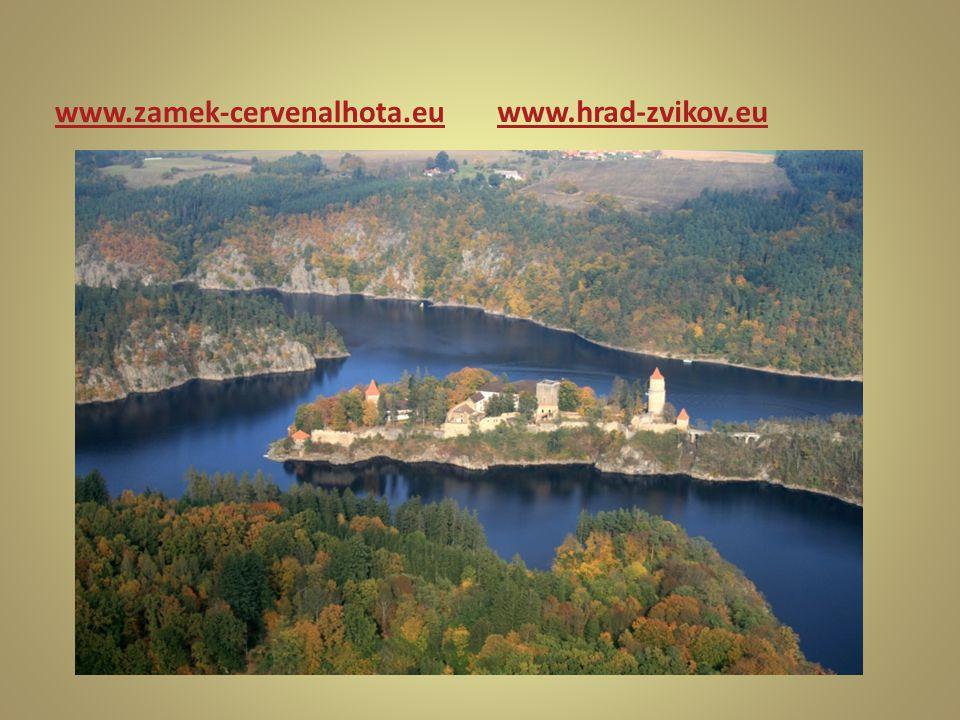 www.zamek-cervenalhota.eu www.hrad-zvikov.eu