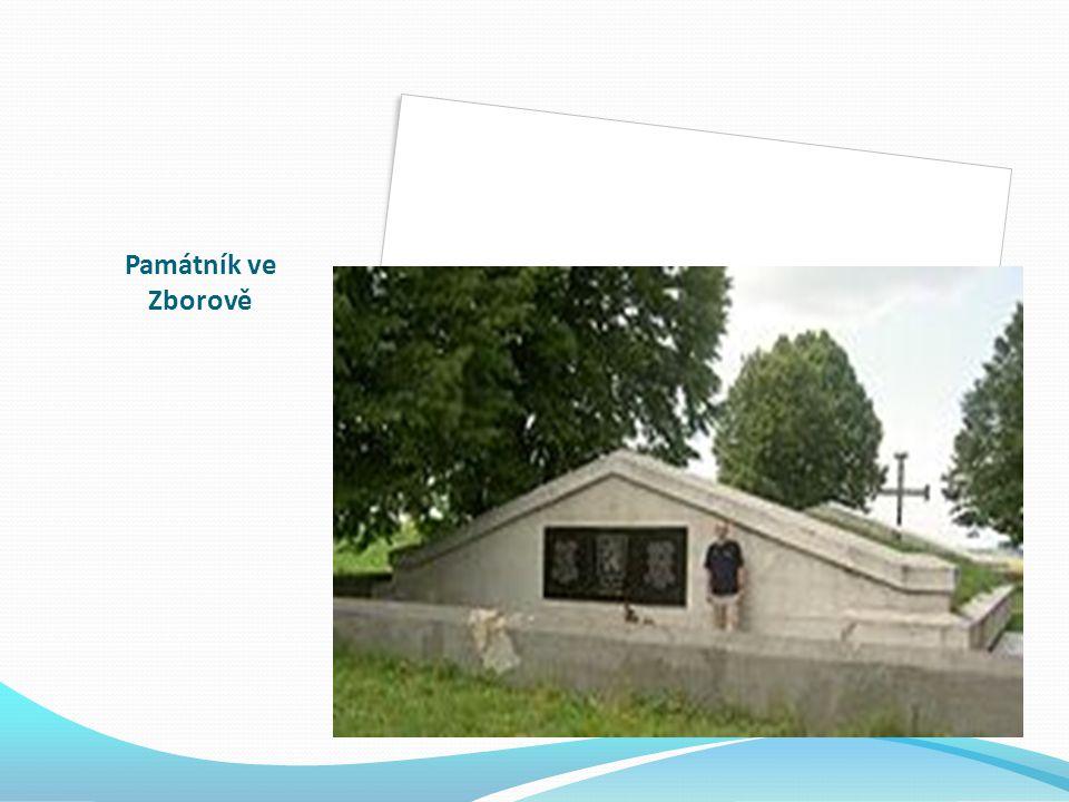 Památník ve Zborově