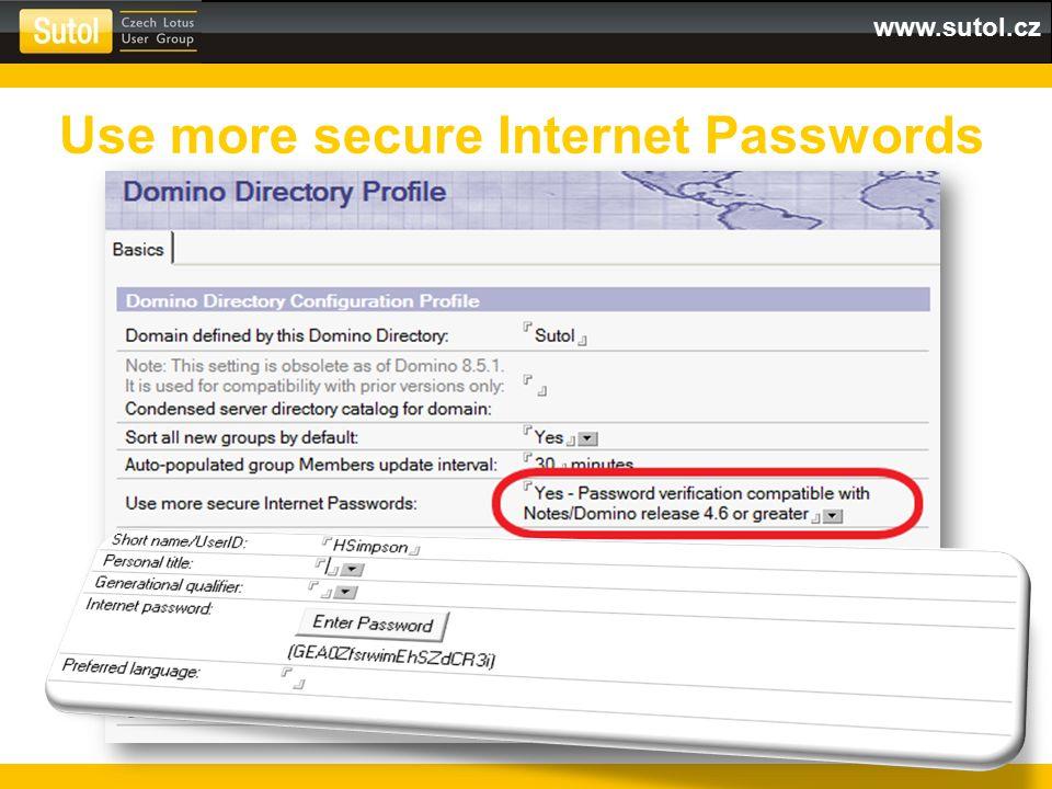 www.sutol.cz Platný certifikát 2048 bit SHA1