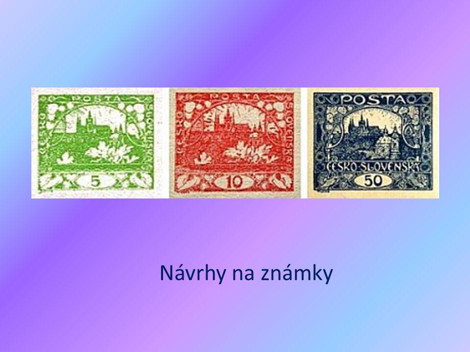 Návrhy na známky