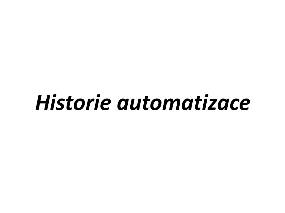 Vývojové stupně mechanizace a automatizace Čtvrtý: – výrobní středisko s úplnou automatizací procesu obrábění, manipulace a skladování – ostatní znaky shodné s 3.