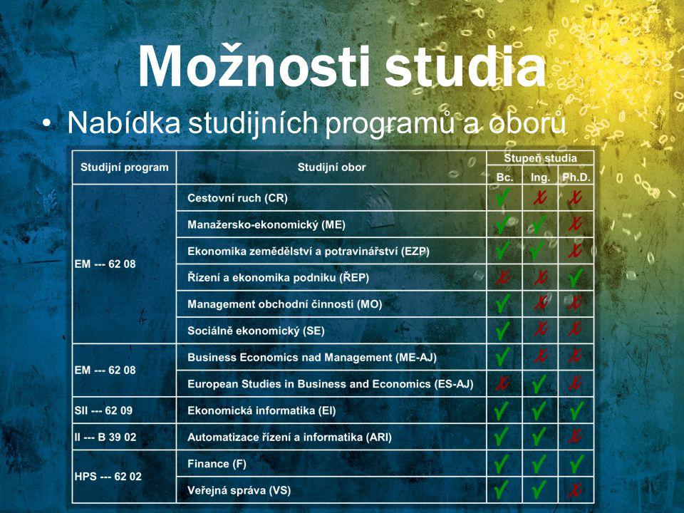 Informatika na Mendelu Automatizace řízení a informatika (AŘI) -Mezioborové studium se zaměřením na technické aplikace Ekonomická informatika (EI) -mezioborové studium informatiky a ekonomie