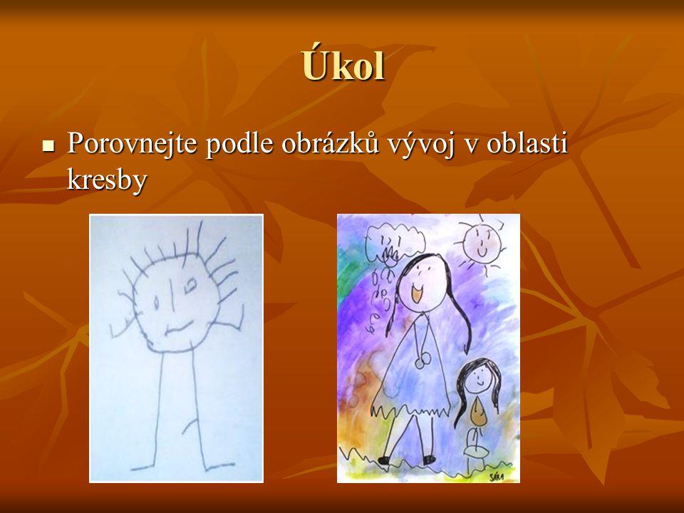 Úkol Porovnejte podle obrázků vývoj v oblasti kresby Porovnejte podle obrázků vývoj v oblasti kresby