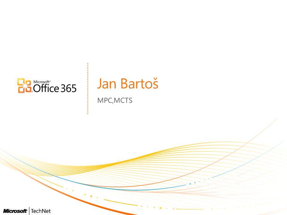 Jan Bartoš MPC,MCTS