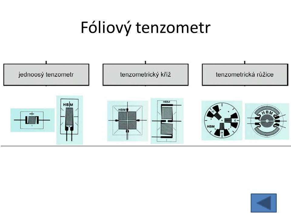 Fóliový tenzometr