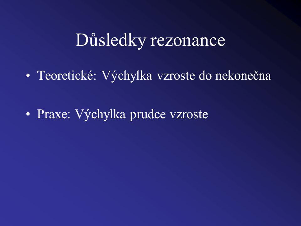 Mechanická rezonance