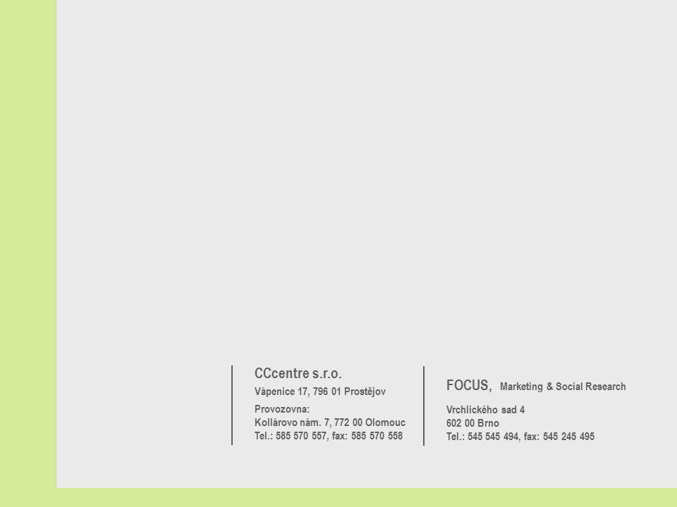 CCcentre s.r.o. Vápenice 17, 796 01 Prostějov Provozovna: Kollárovo nám.