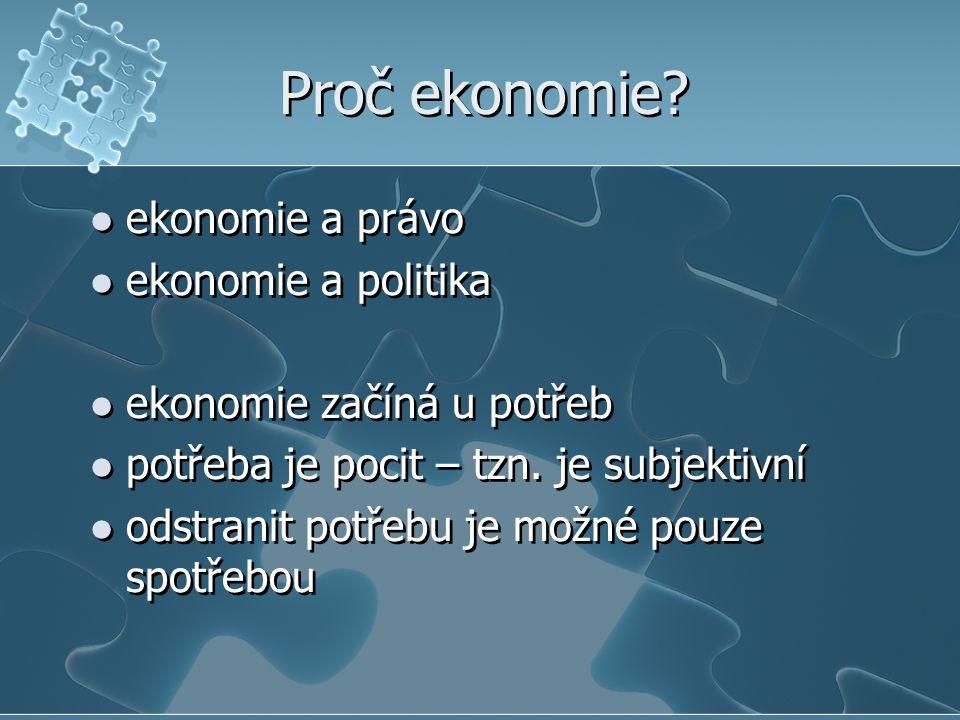 Základní pojmy ekonomie ekonomika mikroekonomie makroekonomie ekonomie ekonomika mikroekonomie makroekonomie