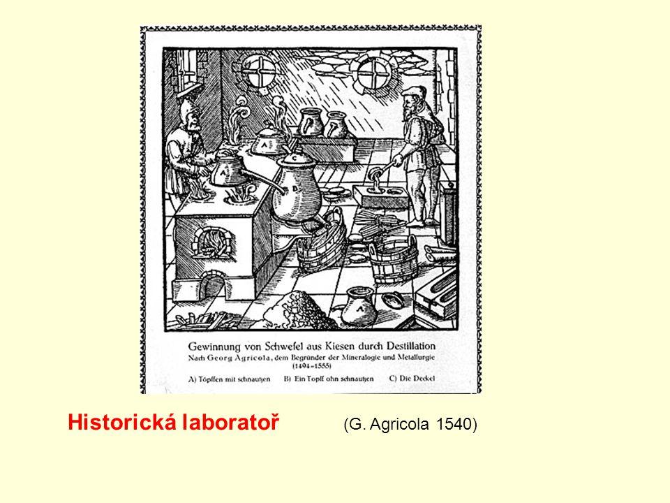 Historická laboratoř (G. Agricola 1540)