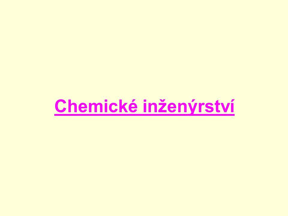 Chemické inženýrství