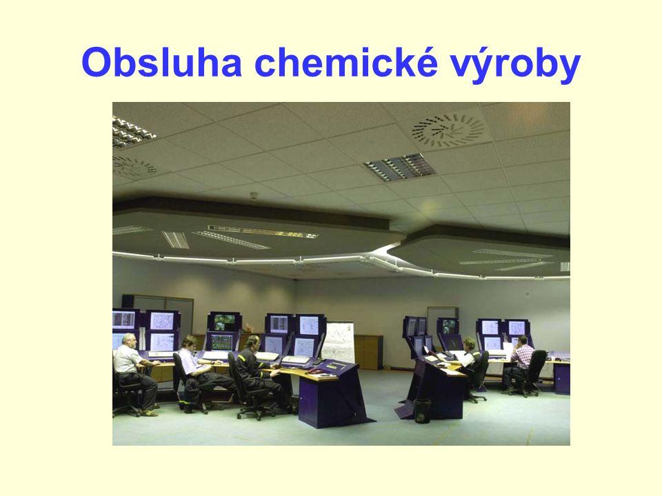 Obsluha chemické výroby