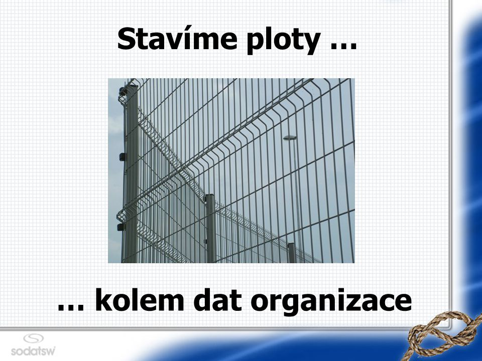 Díky za pozornost Autor : Martin HANZAL, Development Director E-mail : martin@sodatsw.cz