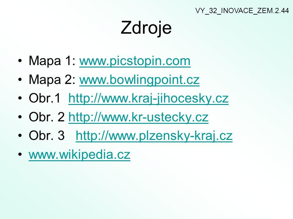 Zdroje Mapa 1: www.picstopin.comwww.picstopin.com Mapa 2: www.bowlingpoint.czwww.bowlingpoint.cz Obr.1 http://www.kraj-jihocesky.czhttp://www.kraj-jih