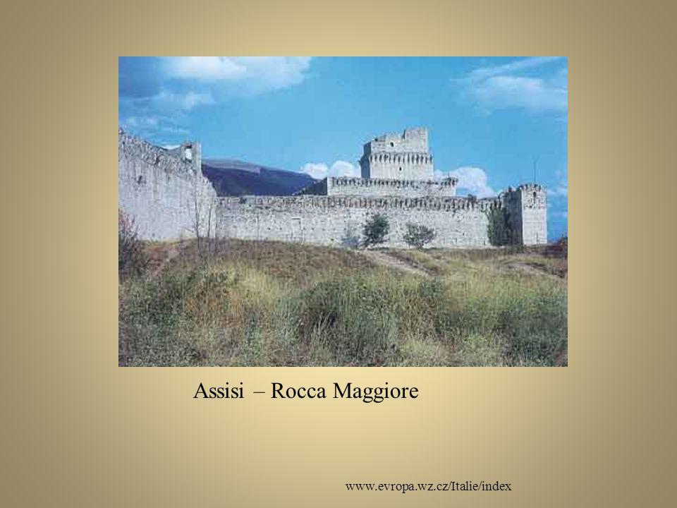 www.evropa.wz.cz/Italie/index Assisi – Rocca Maggiore