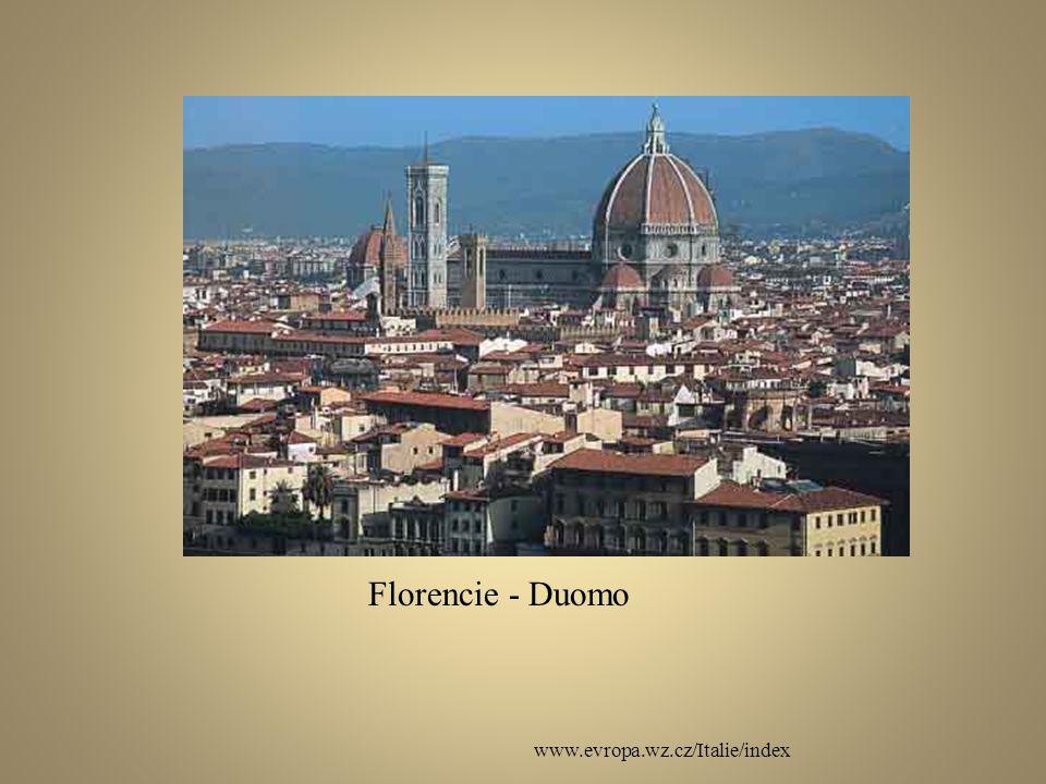www.evropa.wz.cz/Italie/index Florencie - Duomo