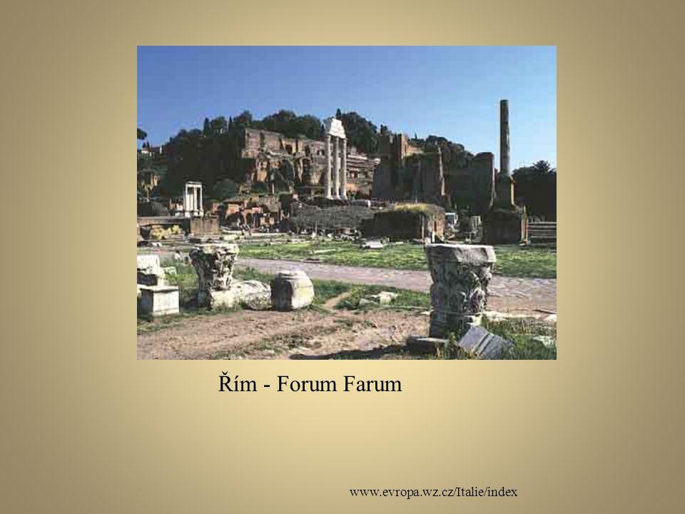 www.evropa.wz.cz/Italie/index Řím - Forum Farum