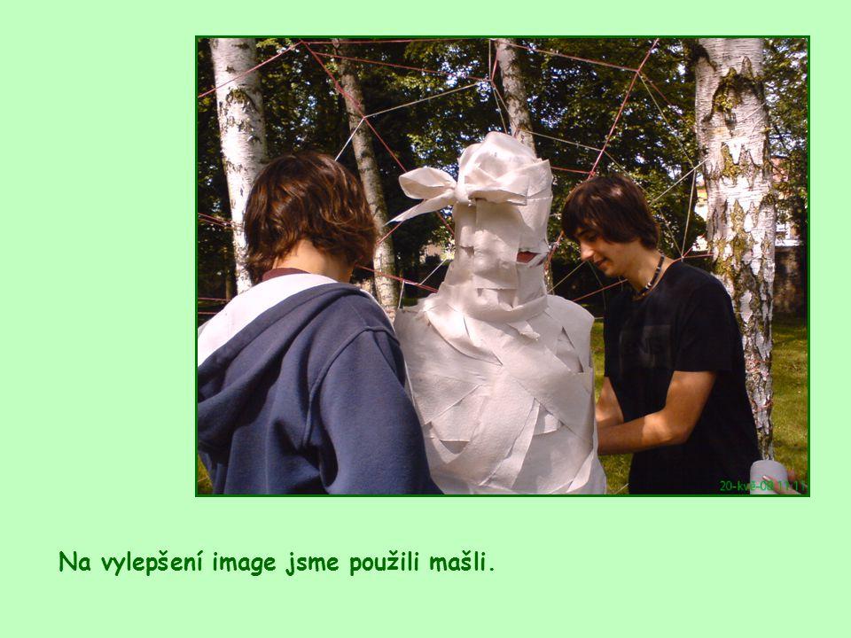 Na vylepšení image jsme použili mašli.