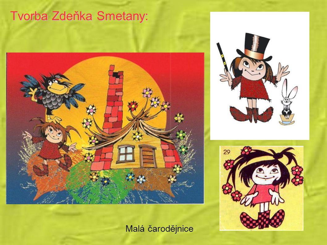 Tvorba Zdeňka Smetany: Malá čarodějnice