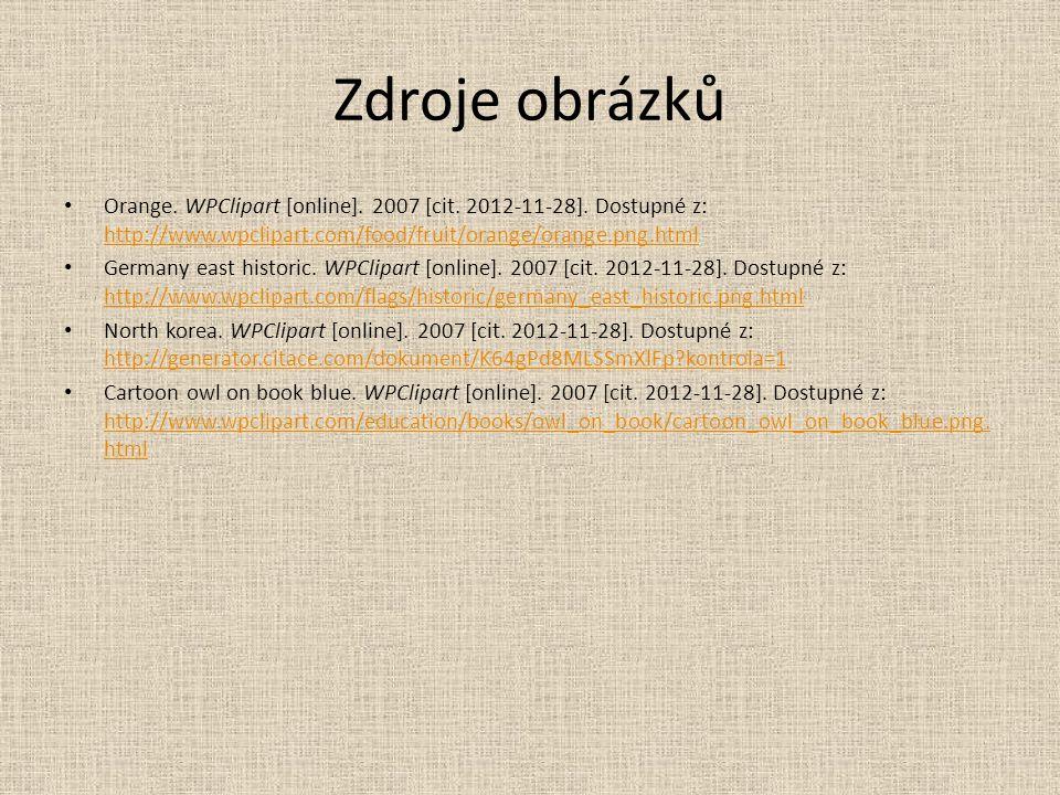 Zdroje obrázků Orange. WPClipart [online]. 2007 [cit.