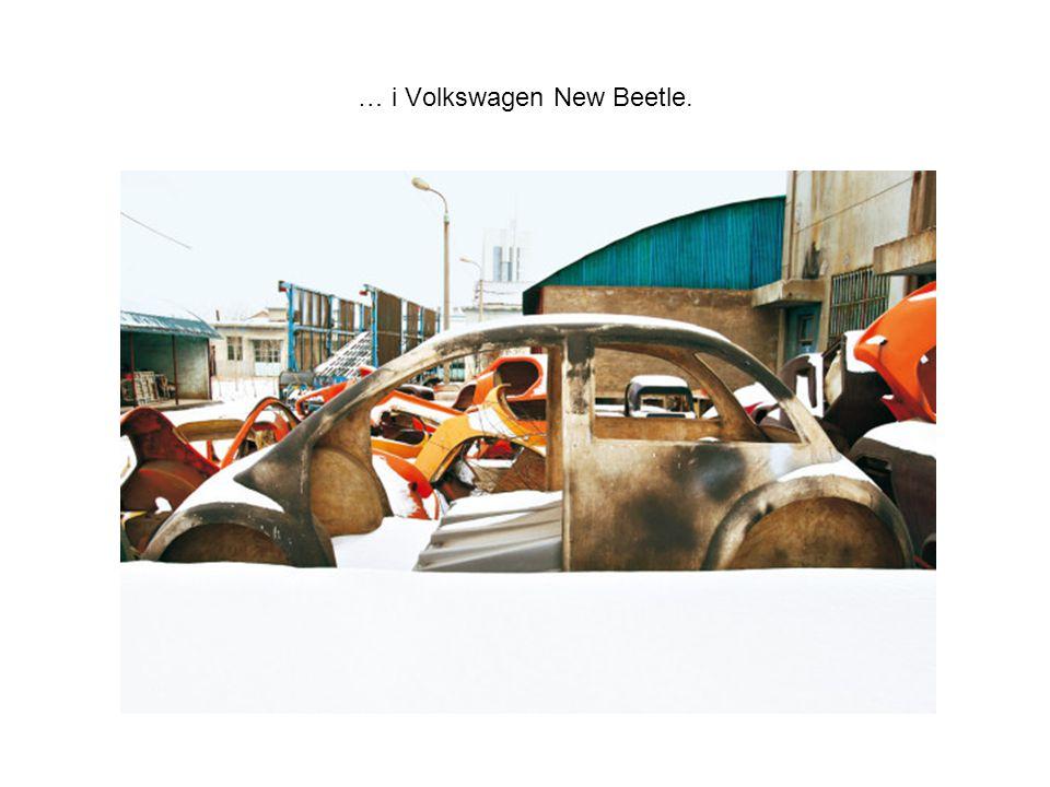… i Volkswagen New Beetle.