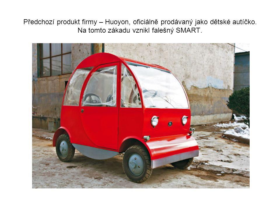 Soudě podle místa za továrnou, kde stály ve sněhu části dalších prototypů, můžeme zanedlouho očekávat falsifikát Smart Forfour…
