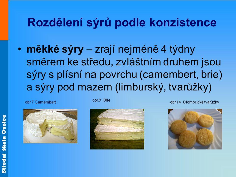 Střední škola Oselce Zdroj materiálů: obr.24http://upload.wikimedia.org/wikipedia/commons/thumb/0/09/Epoisses.jpg/22 0px-Epoisses.jpg obr.25http://upload.wikimedia.org/wikipedia/commons/thumb/1/1e/Gorgonzola_an d_a_pear.jpg/220px-Gorgonzola_and_a_pear.jpg obr.26http://upload.wikimedia.org/wikipedia/commons/thumb/d/d4/S%C3%BDr_Ja del.jpg/220px-S%C3%BDr_Jadel.jpg obr.27http://upload.wikimedia.org/wikipedia/commons/thumb/f/f7/Cave_%C3%A0 _Roquefort_3.JPG/800px-Cave_%C3%A0_Roquefort_3.JPG obr.28http://upload.wikimedia.org/wikipedia/commons/thumb/5/5f/Swiss_fondue_2.jpg/220px-Swiss_fondue_2.jpg obr.29http://upload.wikimedia.org/wikipedia/commons/thumb/a/a8/Oscypki.jpg/220 px-Oscypki.jpg obr.30http://upload.wikimedia.org/wikipedia/commons/thumb/2/23/Chleb_z_brynd za.jpg/240px-Chleb_z_bryndza.jpg obr.31http://upload.wikimedia.org/wikipedia/commons/thumb/8/86/Lu%C4%8Dina.