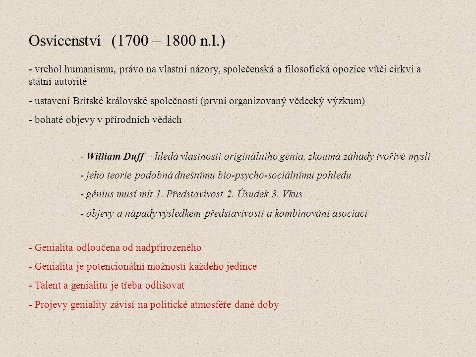 Asocianismus a Gestaltismus (19.