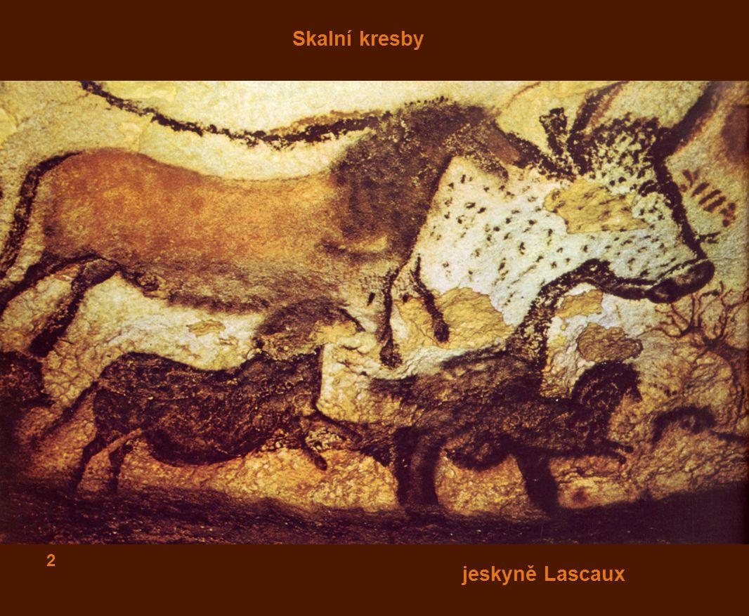 Skalní kresby 2 jeskyně Lascaux