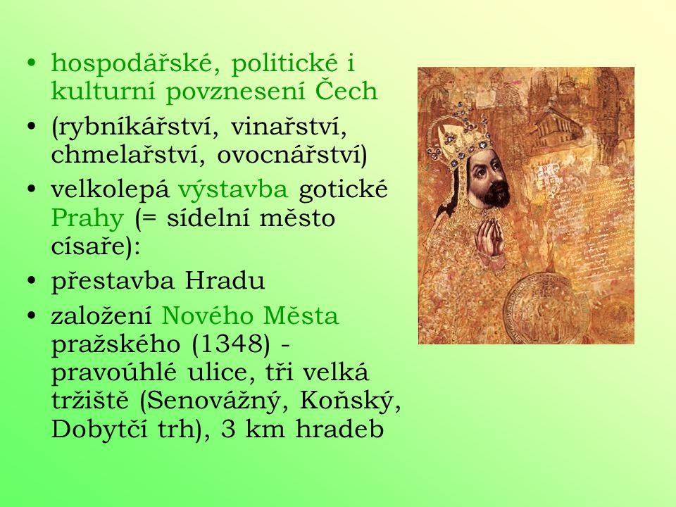 po návratu znovuzískání královského majetku 1344 – arcibiskupství první arcibiskup Arnošt z Pardubic, celoživotní Karlův rádce založena svatovítská ka
