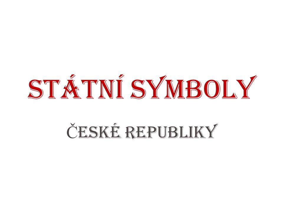 Velký státní znak zobrazuje všechna historická území státu: Čechy, Morava a Slezsko 1.
