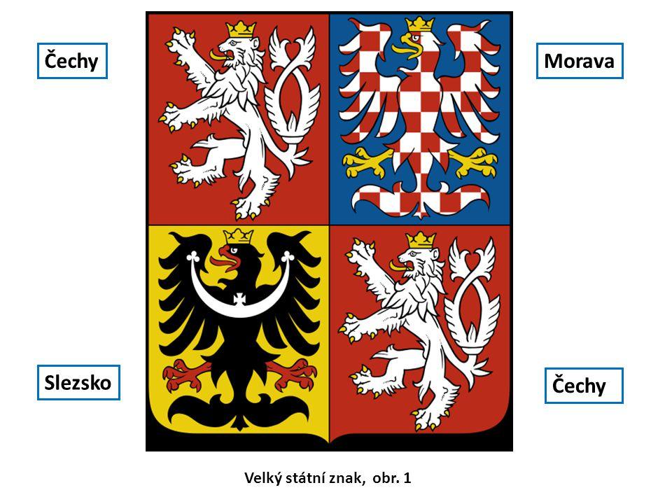 Malý státní znak tvoří červený štít se lvem ve skoku Malý státní znak, obr. 2.