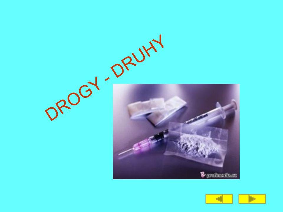 Drogy Co jsou to drogy.