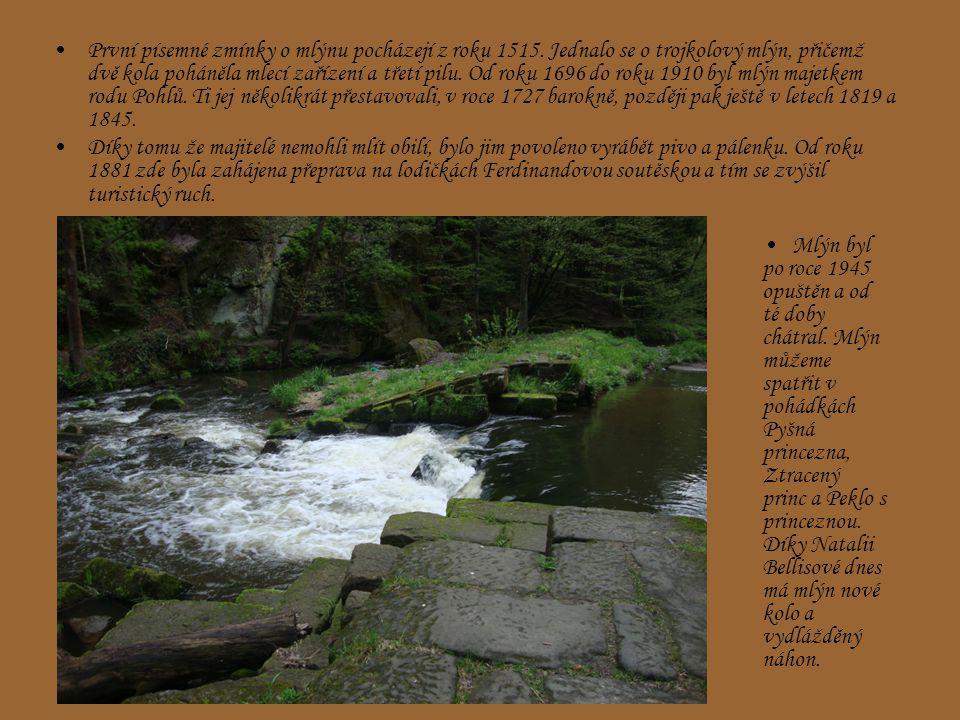 První písemné zmínky o mlýnu pocházejí z roku 1515.