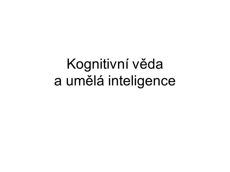 Kognitivní věda a umělá inteligence