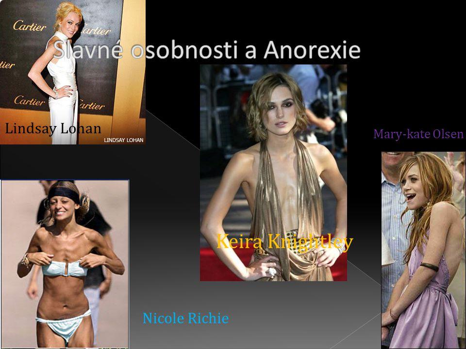 Lindsay Lohan Mary-kate Olsen Keira Knightley Nicole Richie