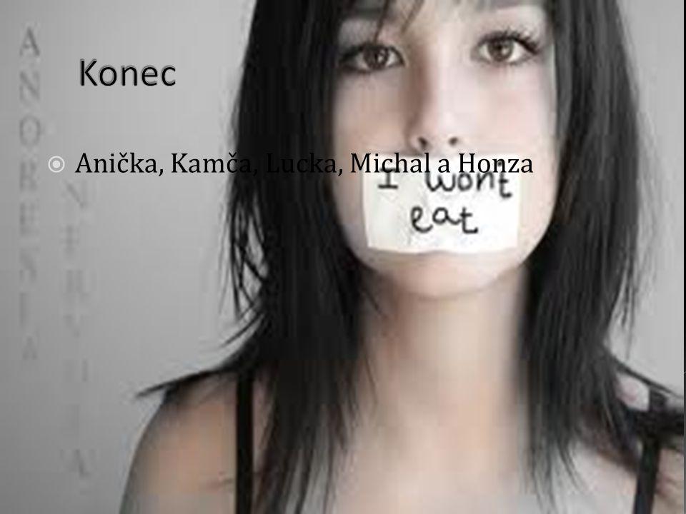  Anička, Kamča, Lucka, Michal a Honza